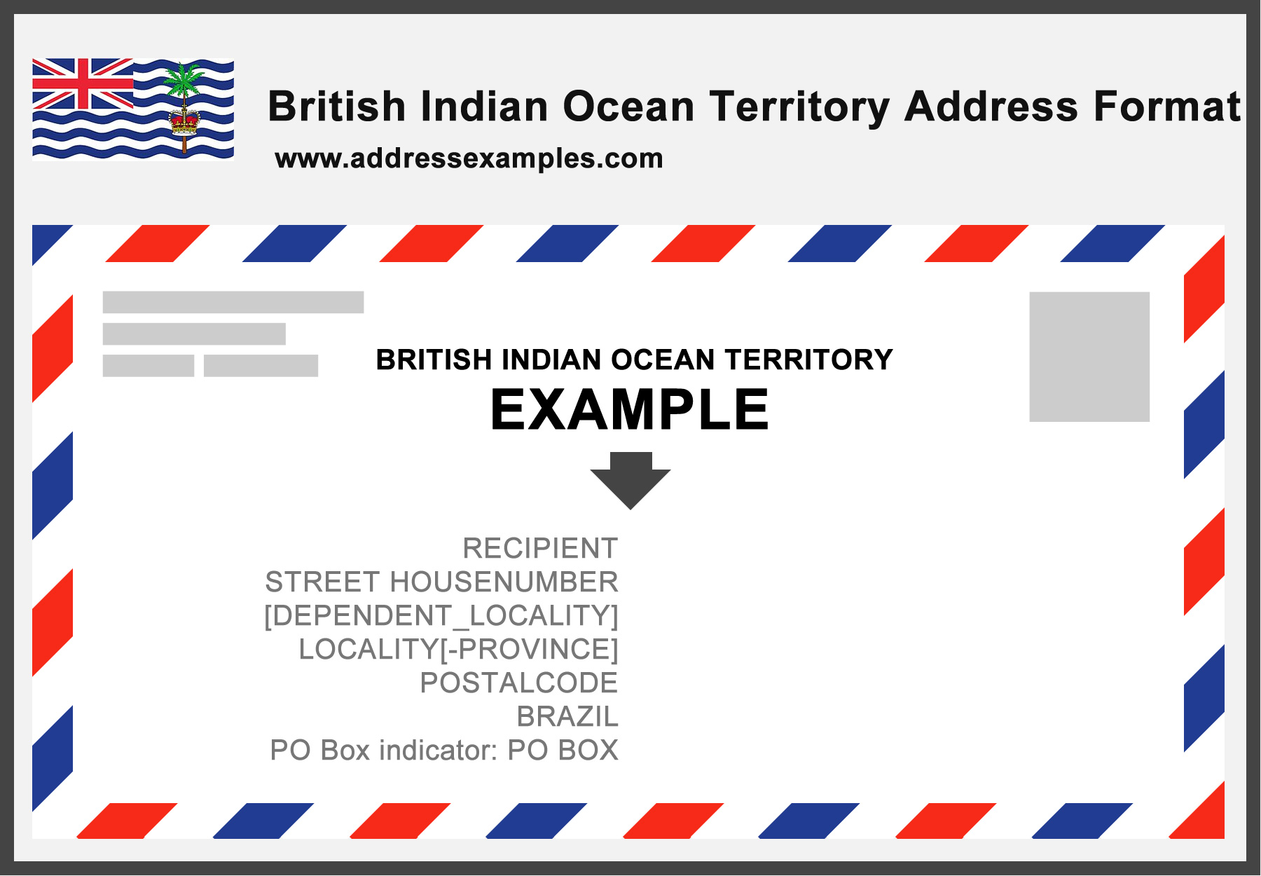British Indian Ocean Territory Address Format