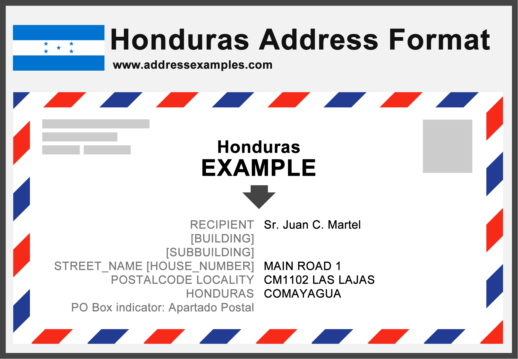 Letter Format To And From Address