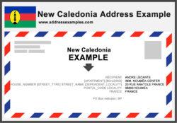 New Caledonia Address Example