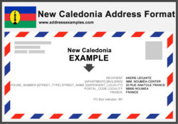 New Caledonia Address Format