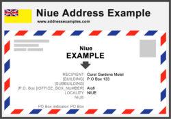 Niue Address Example