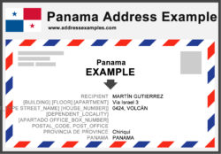 Panama Address Example