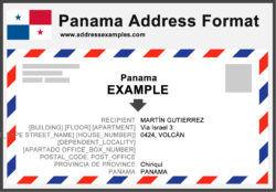Panama Address Format