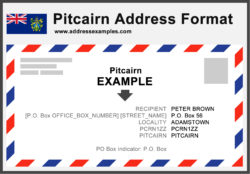 Pitcairn Address Format