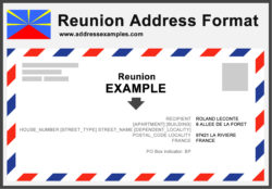 Reunion Address Format