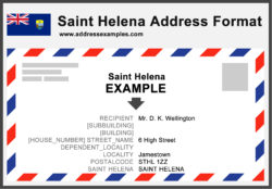 Saint Helena Address Format