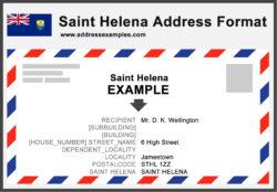 Saint Helena Address Format