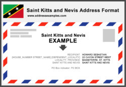 Saint Kitts Nevis Address Format