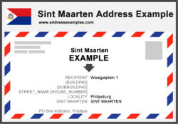 Sint Maarten Address Example